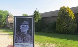 George Copeland at Courcelette